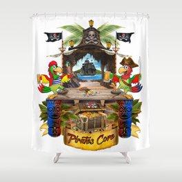 Pirates Cove Shower Curtain