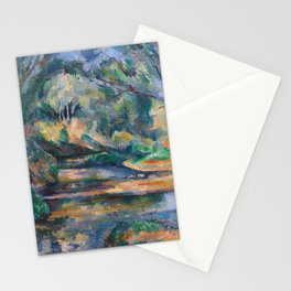 The Brook by Paul Cézanne Stationery Cards