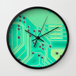Connections @society6 #society6 #decor #buyart Wall Clock