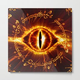 Lord Of the ring Metal Print