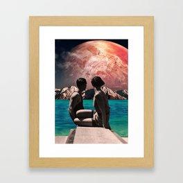 Utopian hope Framed Art Print