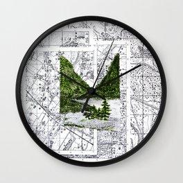 Green Desease Wall Clock