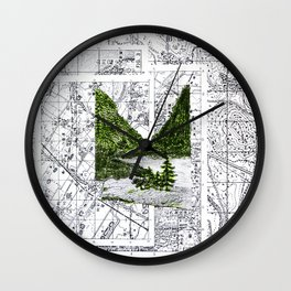 Green Desease Wall Clock