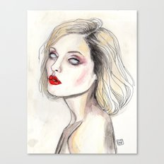 Debbie harry by Warhol  Canvas Print