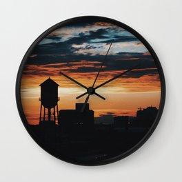 Libby Hill Sunset Wall Clock