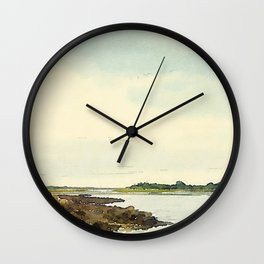 Cape Porpoise, Maine Wall Clock