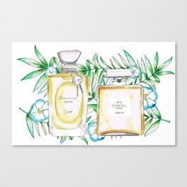 Perfumes Series 1 Canvas Print