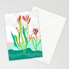 Kangaroo Paw Botanical Illustration Stationery Cards
