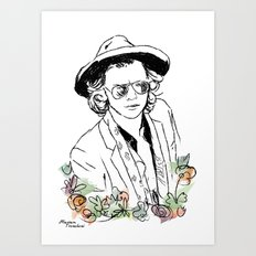 Harry Styles Art Print