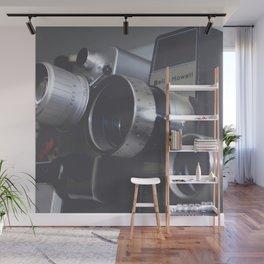 Vintage Video Cameras Wall Mural