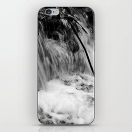 Black and White Falls iPhone Skin