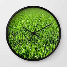 grass Wall Clock
