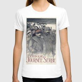Theophile Alexandre Steinl - 25 Juin 1916, Journee Serbe - Digital Remastered Edition T-shirt