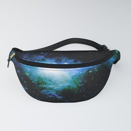 Orion Nebula Blue Green Fanny Pack