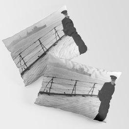 Winston Churchill At Sea Pillow Sham