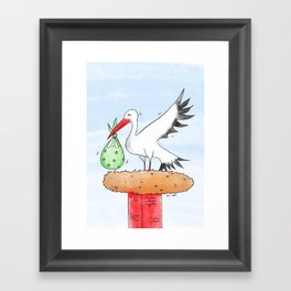 It's a Baby! Framed Art Print
