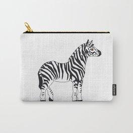 Zebra Stan Carry-All Pouch