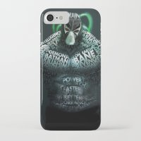 bane iPhone & iPod Cases featuring Bane by Midu