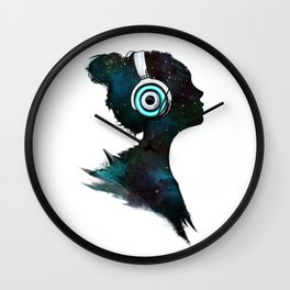 Lost In Space (Clean) Wall Clock