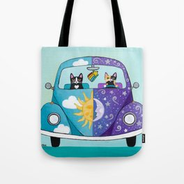 Sunny and Luna Tote Bag