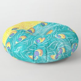 Peacock - Majestic Floor Pillow
