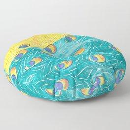 Peacock - Majestic Floor Pillow