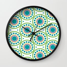 Circulos  concentricos Wall Clock