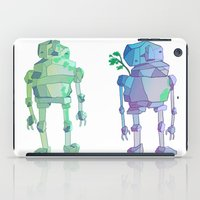 giants iPad Cases featuring Stone Giants by Emily Joan Campbell