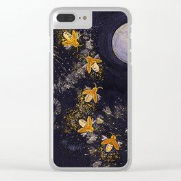 Dance of the Fireflies Clear iPhone Case