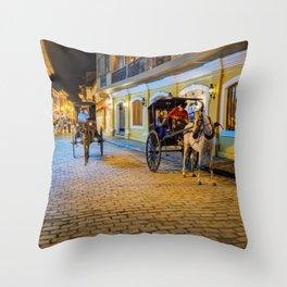 Vigan City, Philippines Throw Pillow