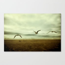 Past, Present, Future of an Extended Moment Canvas Print
