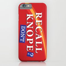 Recall Knope iPhone 6s Slim Case