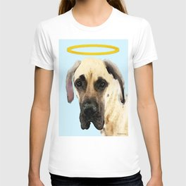 Great Dane Art - I Didn't Do It T-shirt