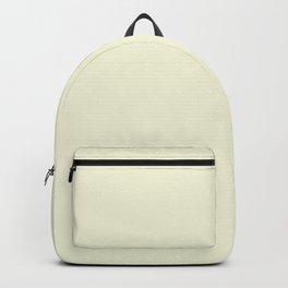 Solid Light Beige Color Backpack