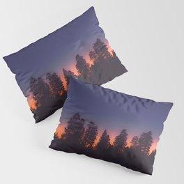 TREES AT SUNSET Pillow Sham