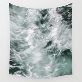 Silky Waves Wall Tapestry