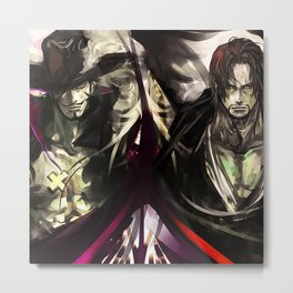 One Piece - Epic Duo Metal Print