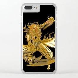GOld Hollow Ichigo Kurosaki Clear iPhone Case