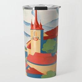 Vintage poster - Berne Travel Mug