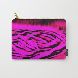 Electric Water - Neon Pink Carry-All Pouch