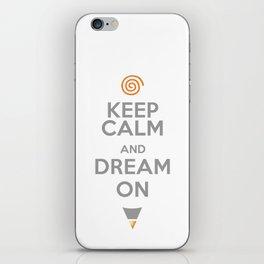 Keep Thinking iPhone Skin
