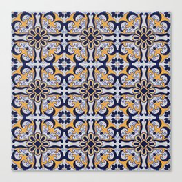 Portuguese tile Canvas Print