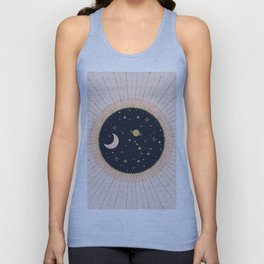 Love in Space Unisex Tank Top