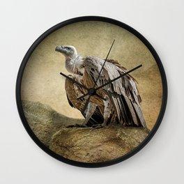 Griffon Vulture Wall Clock