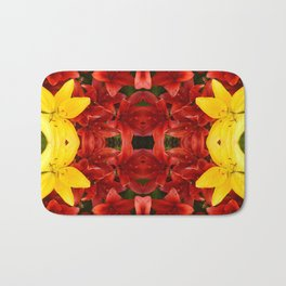 """A Gathering of Lilies"" Remix - 1 (1-1) [D4465~12] Bath Mat"