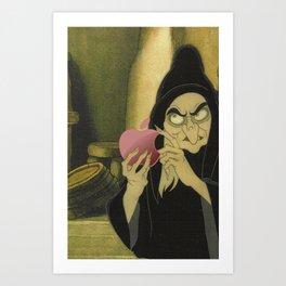 Evil Witch Art Print