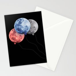 3 moons Stationery Cards