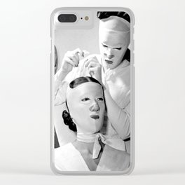 Saving Face Clear iPhone Case
