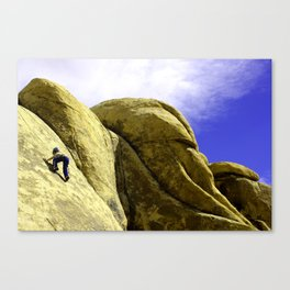 Joshua Tree Climber Canvas Print