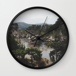 Bluefish Cove Wall Clock